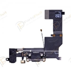 Charging Port Flex Cable for iPhone SE Black