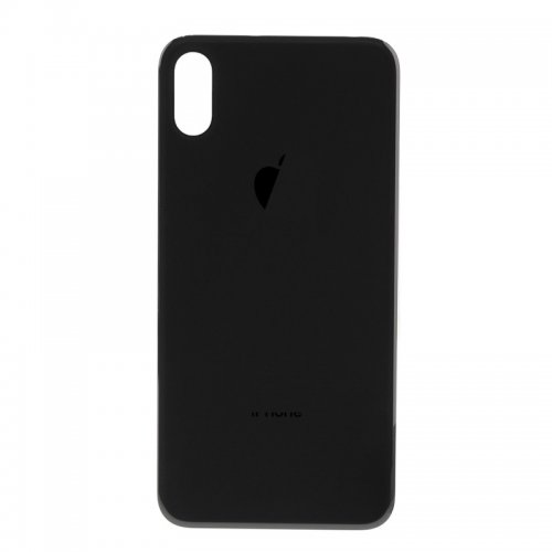 For iPhone X Back Glass Black