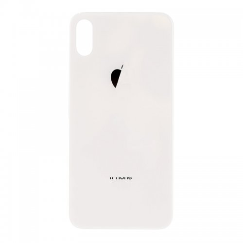 For iPhone X Back Glass White