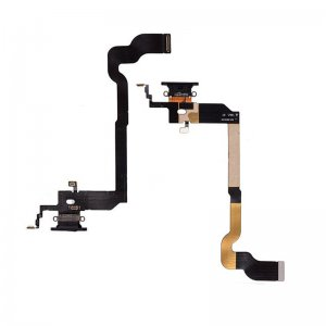 For iPhone X Charing Port Flex Cable Black