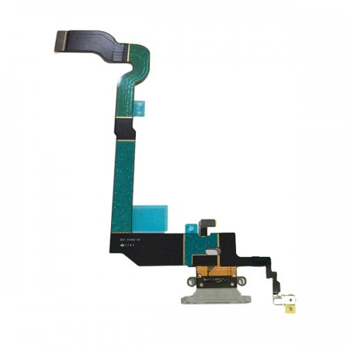 For iPhone X Charing Port Flex Cable White