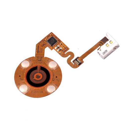 Turnplate flex cable for iPod nano 2 White