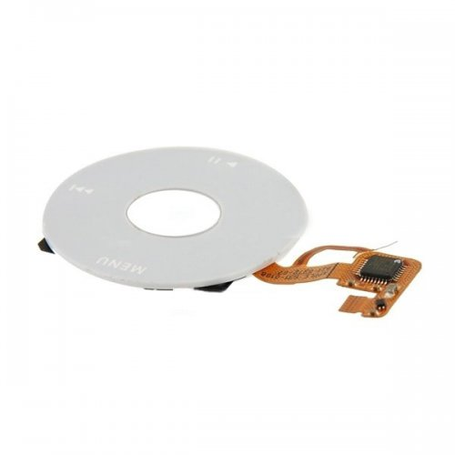Original White Click Wheel Flex Cable Ribbon  Replacement for iPod Video