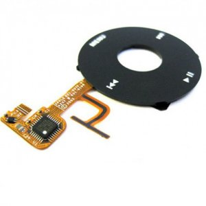 Original Black Click Wheel Flex Cable Ribbon  Replacement for iPod Video