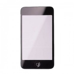 High quality  Touch Screen Digitizer Assembly Part  with Chassis Home Button for ipod 3rd gen