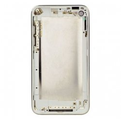 Original used back cover 8GB with white frame for ipod touch 4 gen with logo