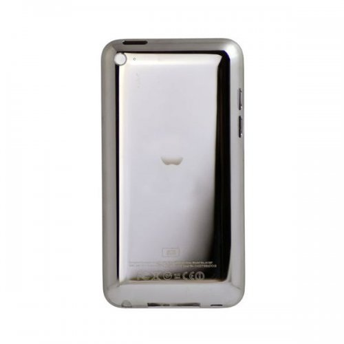 Original used back cover 64GB with white frame for ipod touch 4 gen with logo