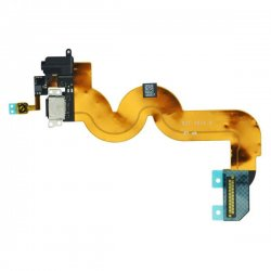 Original Dock Connector Charging Port with Flex Cable for iPod Touch 5 -Black