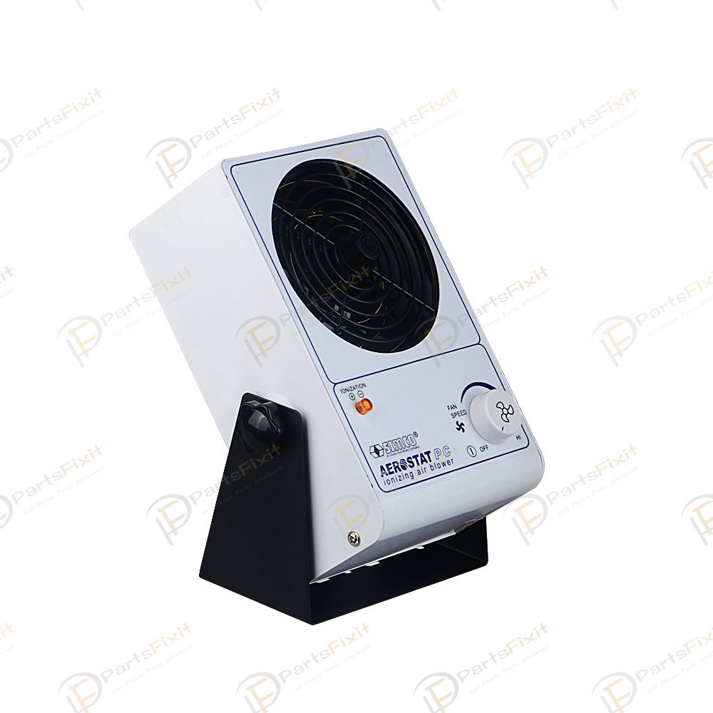 110V 25W PC Ionizing Air Blower Fan Ion Anti-Static Fan USA
